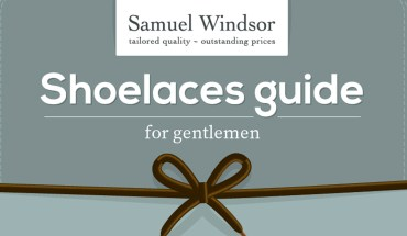 Every Gentleman's Necessary Guide to Shoelaces and How to Wear Them - Infographic