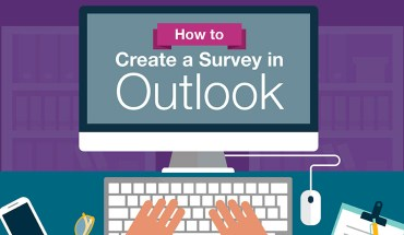 How to Create Online Surveys with Outlook - Infographic