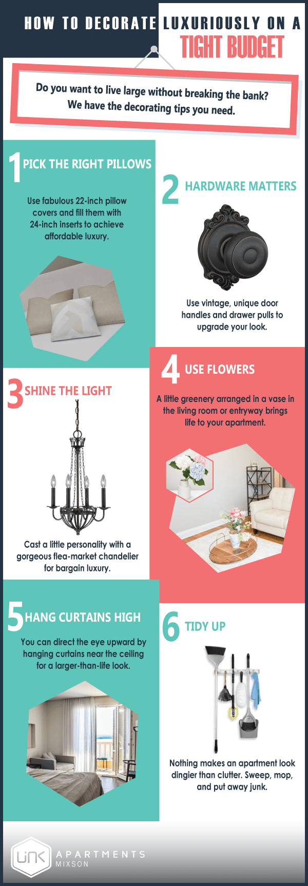 Want Luxury Living at Easy Prices: Here's How - Infographic