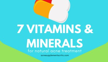 Why Natural Vitamins and Minerals are the Best Way to Treat Acne - Infographic