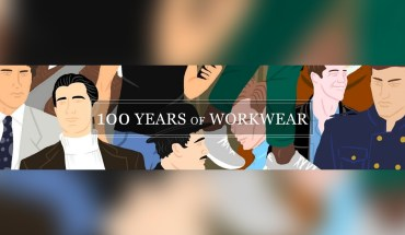 The Evolution of Men's Workwear: The Last 100 Years - Infographic