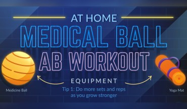 Use a Medicine Ball to Up Your Home-Gym Workout - Infographic