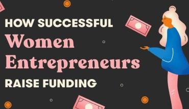 How Successful Women Entrepreneurs Raise Funding - Infographic