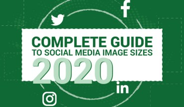 Guide-Sheet on Image Sizes for Different Social Media - Infographic