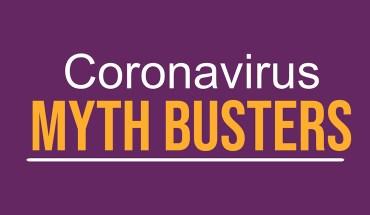 We Bust 14 Myths Surrounding The Coronavirus - Infographic