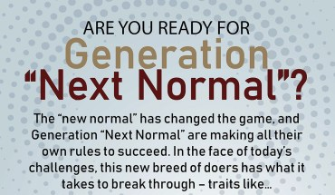 """Are You Ready for Generation """"Next Normal""""? - Infographic"""