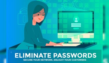 Eliminate Passwords – Secure Your Network, Delight Your Customers - Infographic