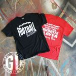 Football Dad Graphic T Shirt