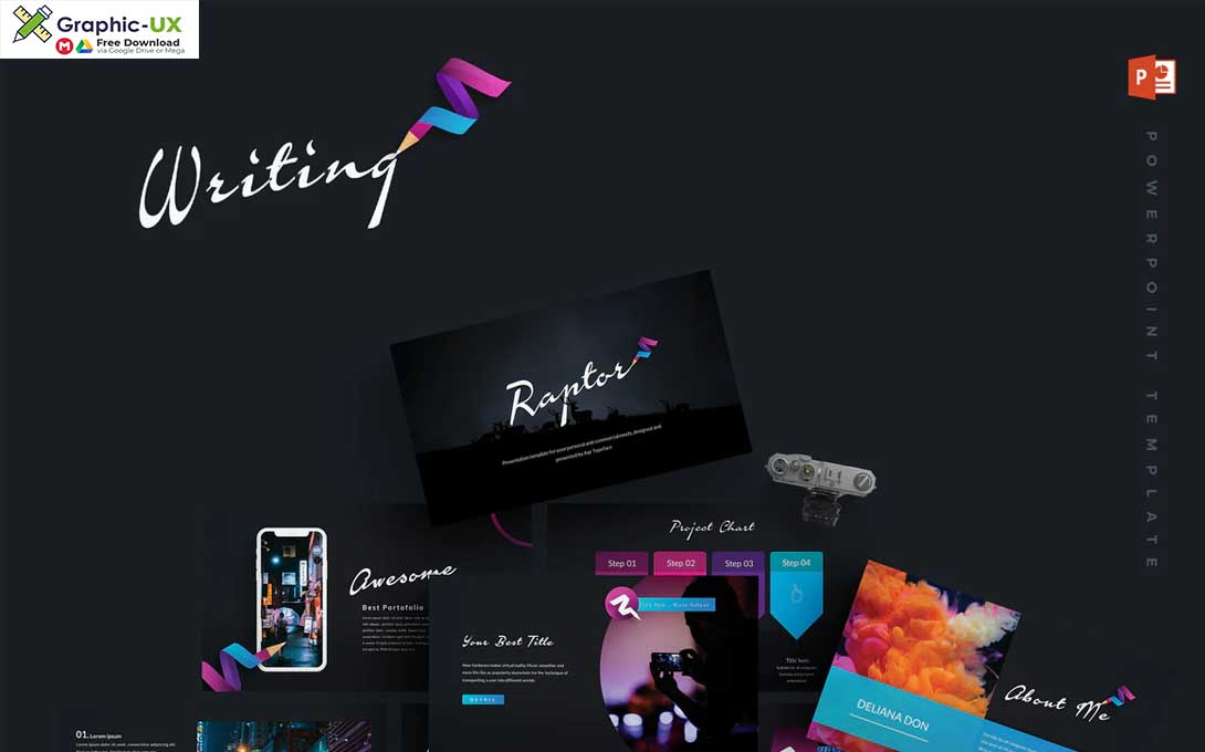 Writing - Powerpoint Template