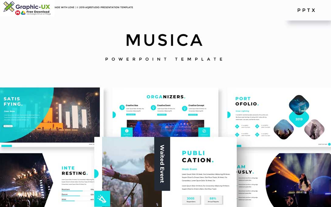 Musica - Powerpoint Template