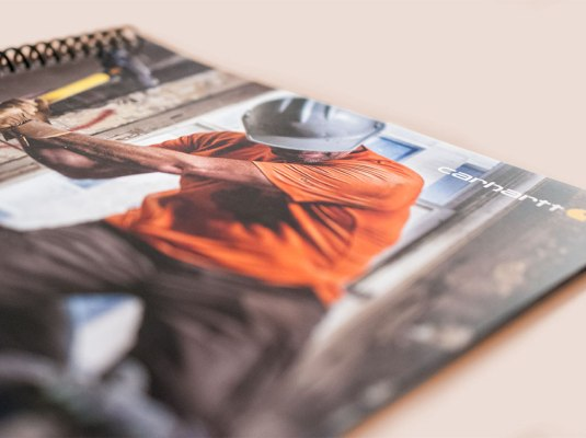 Carhartt - Belts, Gloves and Socks Spring Catalog | Graphic Visual Solutions - Printed Materials
