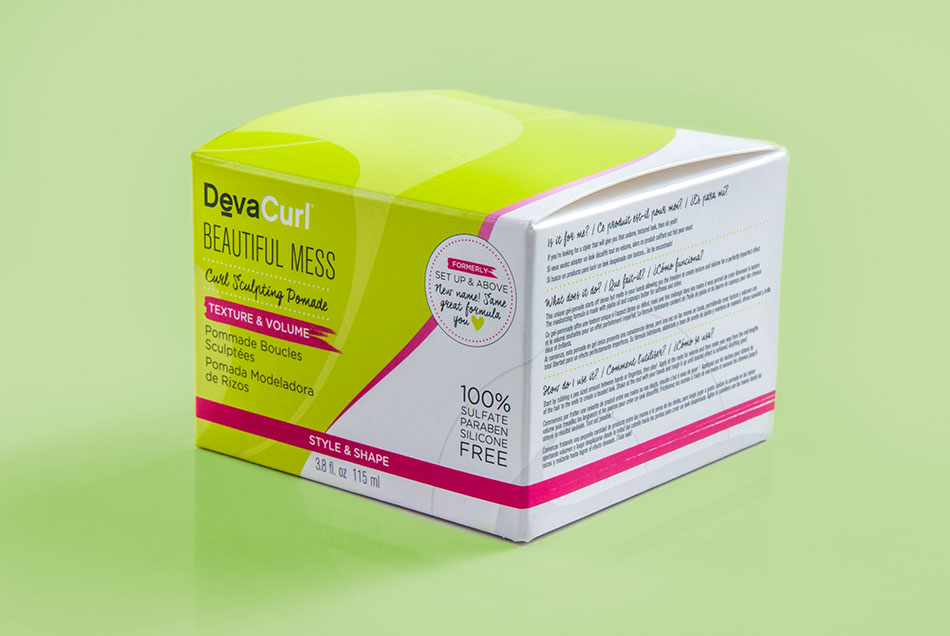 DevaCurl - Beautiful Mess Product Packaging | Graphic Visual Solutions - Labels & Packaging