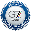 Graphic Visual Solutions is a G7 Master certified by Idealliance