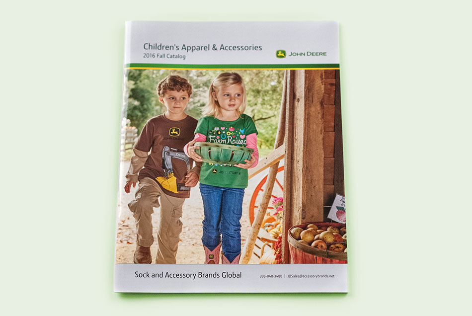 John Deere - Children's Apparel & Accessories Catalog | Graphic Visual Solutions - Printed Materials