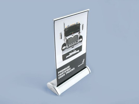 Mack Trucks - Tabletop Pop-up Banner | Graphic Visual Solutions - Wide-Format Graphics