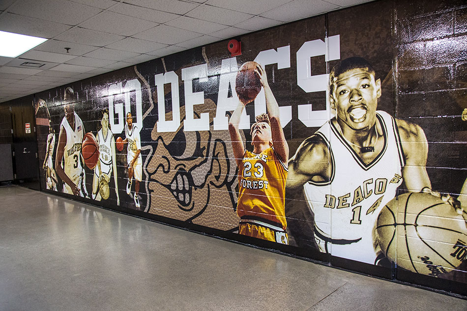 Wake Forest University - Custom Vinyl Wall Graphics | Graphic Visual Solutions - Wide-Format Graphics