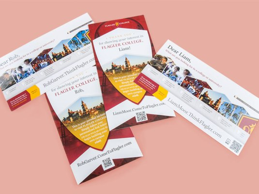 Flagler College - Think Flagler Campaign | Graphic Visual Solutions - Cross Media Campaigns