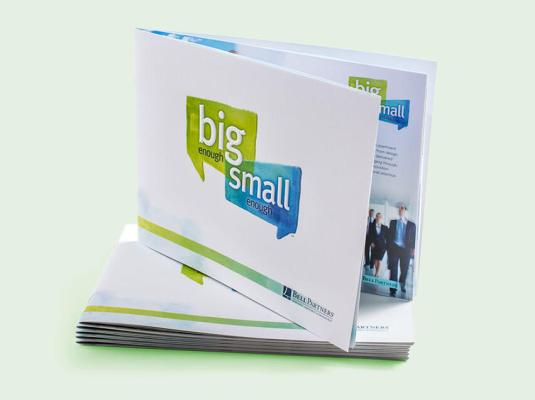 "Bell Partners - ""Big Enough/Small Enough"" Booklet 