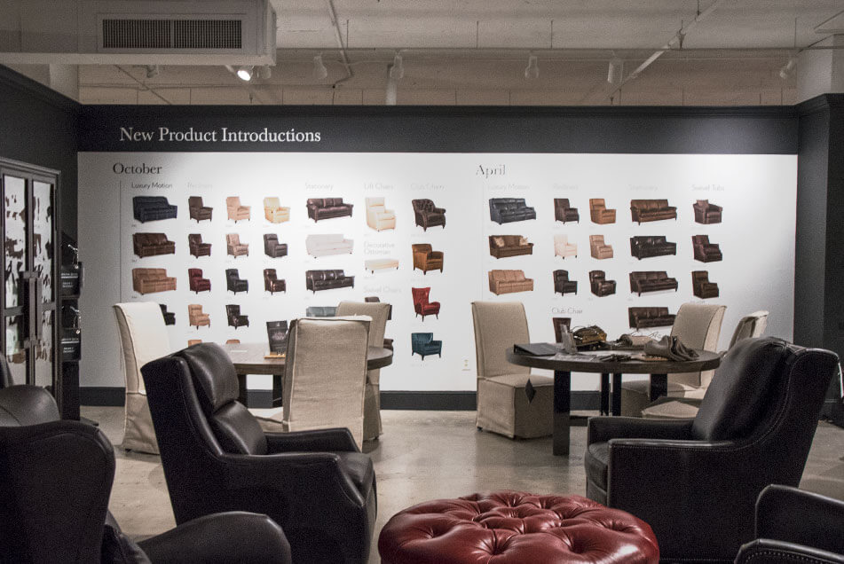 High Point Furniture Market Showroom Graphics Graphic