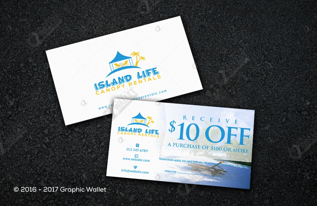 Island Life - Business Card | Graphic Wallet