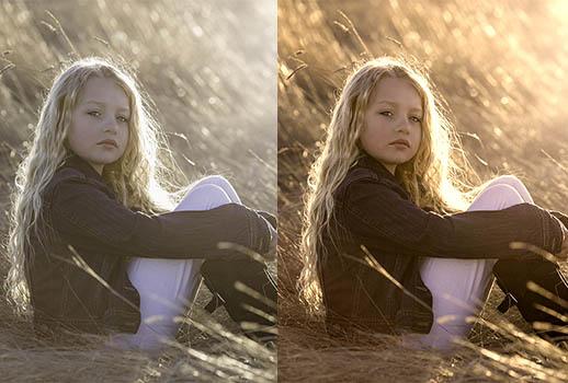 photo_editcolor correction girl