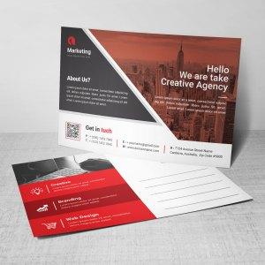 Business PSD Postcard Templates