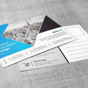 Corporate PSD Postcard Templates