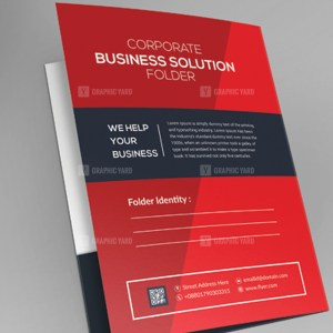 EPS Sleek Corporate Folder Template