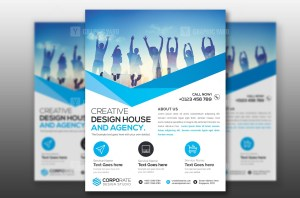 Single Page Corporate Business Flyer