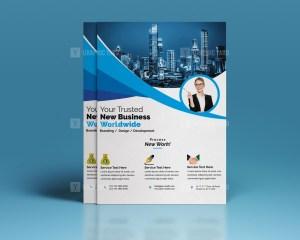 PSD Simple Corporate Flyer