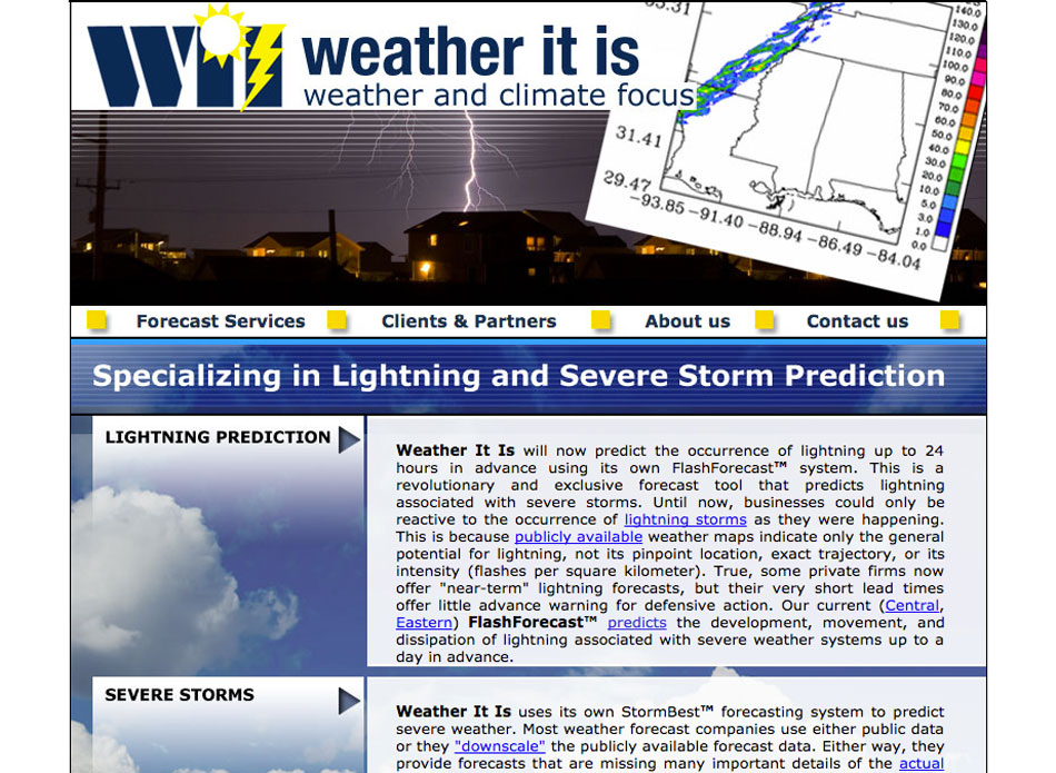 Science – Weather it is