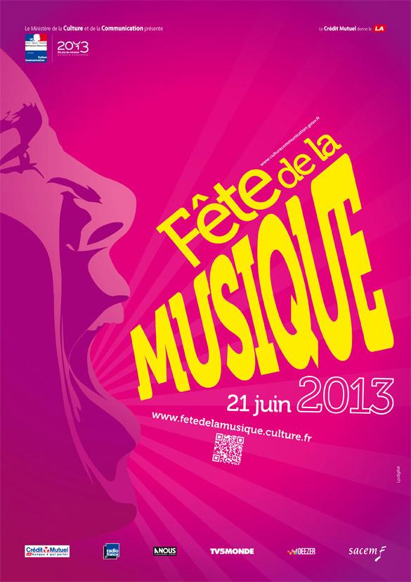 affiche Analyse de laffiche de la fête de la musique 2013.