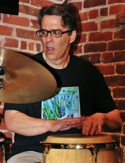 Pete Ehrmann on Percussion