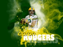 Cool Packers Aaron Rodgers Background