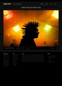 Fullscreen Photo and Multimedia Wordpress theme
