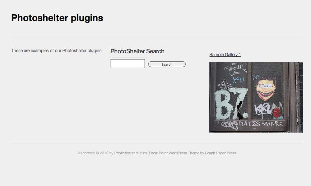 photoshelter-plugins