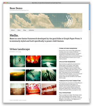 Base WordPress Theme