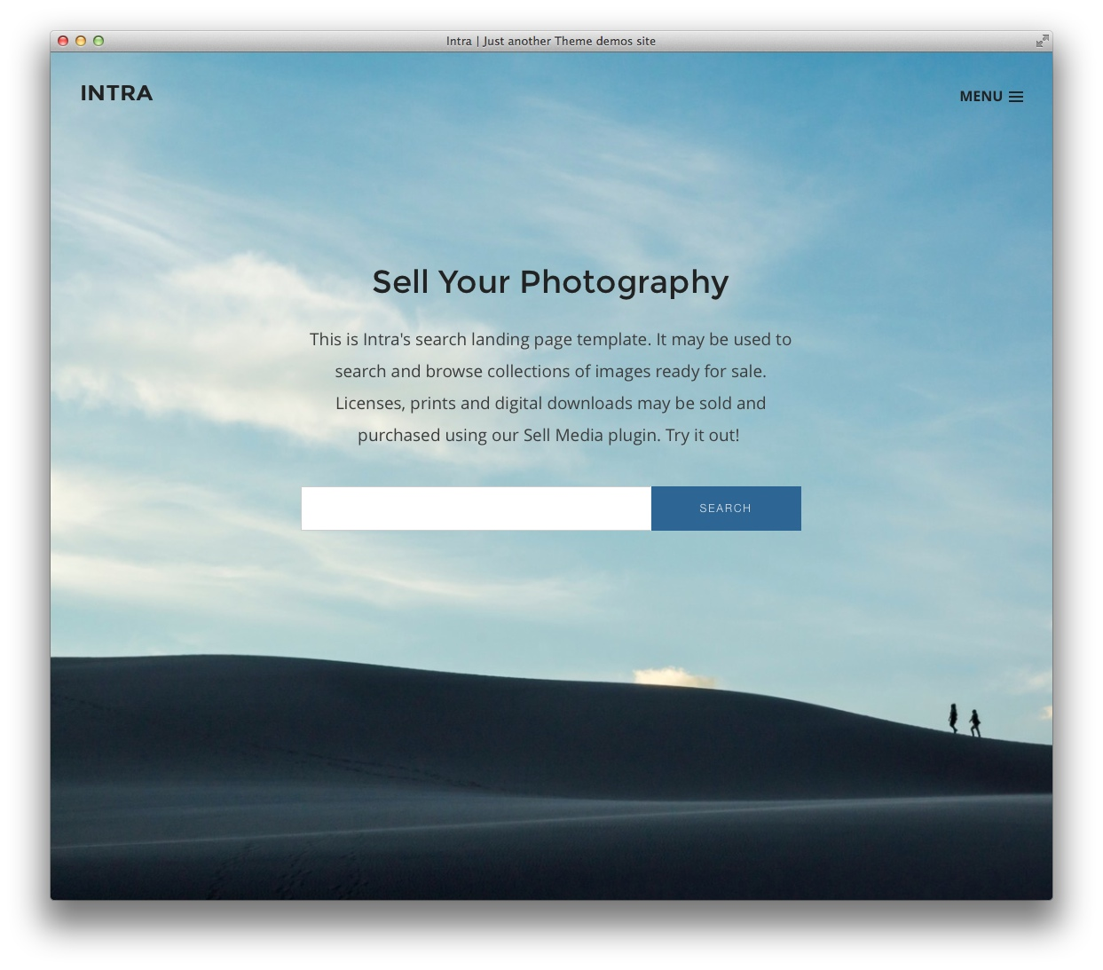 intra is simple beautiful and versatile it was designed to give you the opportunity to greet your visitors with the content youd like them to engage with