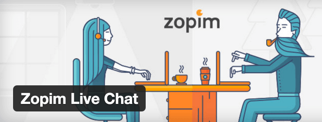 The Zopim Live Chat plugin.
