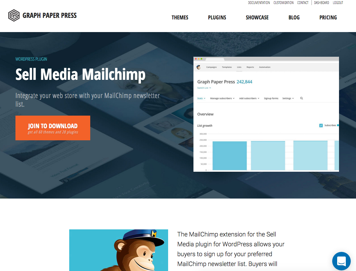 sellmedia mailchimp grow an engaged audience