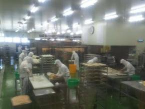 かま栄工場内