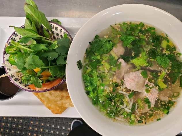 Pho Noodle Soup image