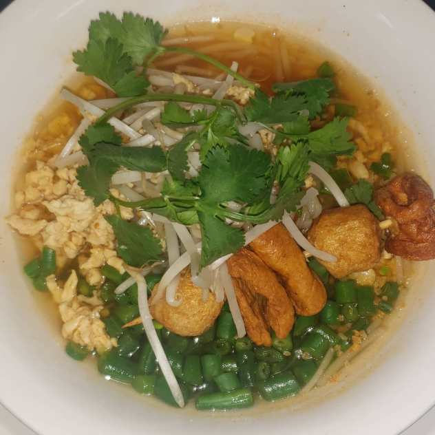 Spicy and Sour Noodle Soup Image
