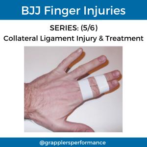 BJJ Finger Injury Taping