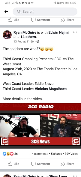 Eddie Bravo and Draculino Coaches