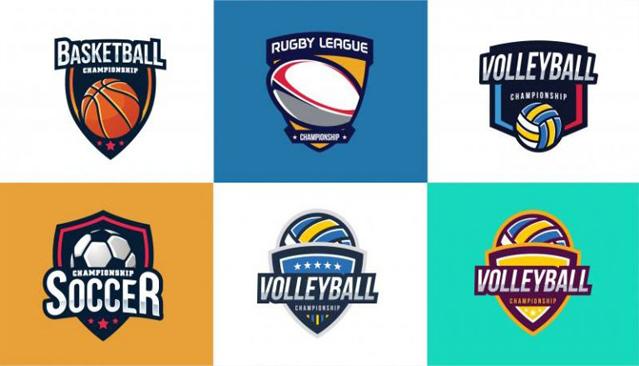 American Sports logo design collection