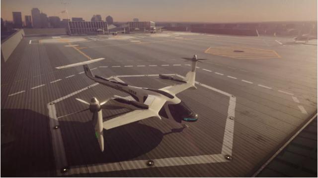 Uber Flying Car concept