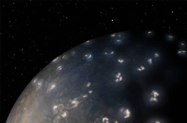 Juno Solves 39-Year Old Mystery of Jupiter Lightning