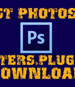 Photoshop filter plugins download