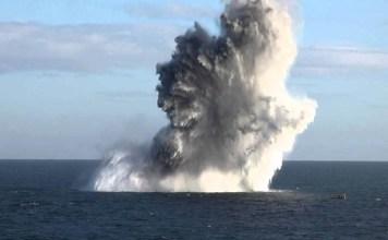 Secret navy document reveal A Solar storm detonated many US sea mines